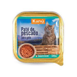 Alimento-Para-Gato---Kanu-Pate-De-Pescado-100-GR-Nueva